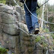 Klettersteigfreuden im November 2011