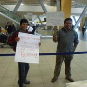 Empfang in Lima - Aeropuerto