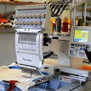 unsere BARUDAN Stickmaschine - eine Stickmaschine der neuesten Generation