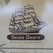 die SEUTE DEERN im Alten Hafen ist heute der größte Frachtsegler der Welt, der im Original erhalten geblieben ist!