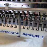 15 Nadeln können abwechselnd mit 1200 Stichen in der Minute loslegen