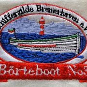 Schiffergilde Bremerhaven: das Börteboot No3 wird bestückt