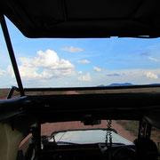 tsavo est panorama da jeep