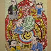 2013作品 火焔太鼓