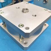 KOMPAUT - cilindro pneumatico compatto esecuzione a disegno, alesaggio 250mm, corsa 25mm
