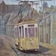 """Naumburger Straßenbahn """"Ille"""""""