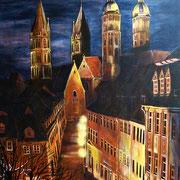 Naumburger Dom und Steinweg