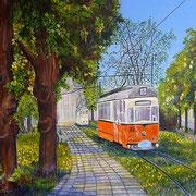 Naumburger Straßenbahn am Marienring
