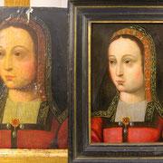Avant et après restauration.