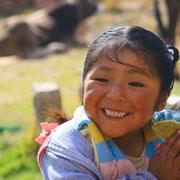 Quechua Mädchen