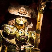 Grabbeigaben der Chimú-Kultur
