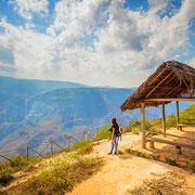 Hermosa Vista vom Canyon de Sonche
