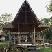 Albergue Pankotsi bei den Shipetiari Indianer