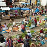 Markttreiben in Pisac