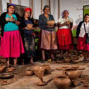 Töpferkunst von Huancas