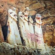 Sarkophage - eine weitere Bestattungsart der Chachapoya