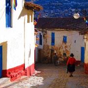 Gasse in San Blas, Cuzco