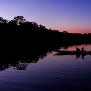 Exkursion auf dem Sandoval See, Tambopata Naturreservat  © RAINFOREST EXPEDITIONS