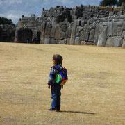 Fassungsloses Staunen in Sacsayhuaman