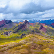Rainbow Mountains, Cordillera Vilcanota
