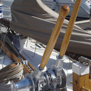anchor winch and handles