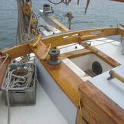 cockpit seen from starboard