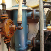 diesel pump for main --> day tank and heat exchanger sea water <-> fresh water