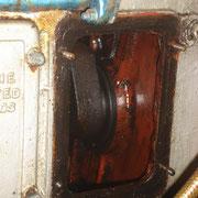 crank case - inspection port