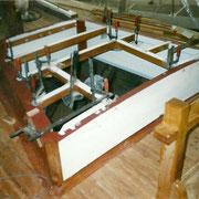 The forward cabin.