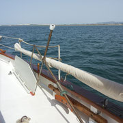 windvane selfsteering when not in use