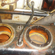 oil tank - dry sump open