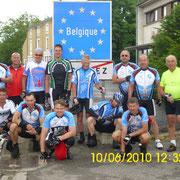 An der Grenze von Belgiern nach Frankreich