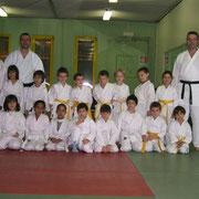 2009 dicembre - Esame di cinture colorate gruppo bambini