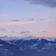Winterhimmel am Morgen