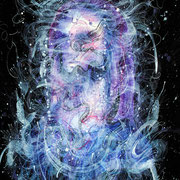 Identity, mixed media on paper, 76 c 52cm, 2018, Mauricio Paz Viola