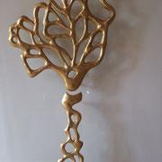 L'arbre Magique( terre peinte)