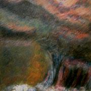 Sturm | 2008 | Acryl auf Leinwand | 120 x 180 cm