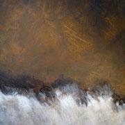 Katarakt | 1978 | Acryl auf Leinwand | 200 x 160 cm