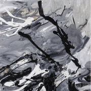 INGEBORG PORSCH, o. T., Acryl auf Leinwand, 140 x 90 cm