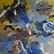 INGEBORG PORSCH, o. T., Acryl auf Leinwand. 100 x 120 cm