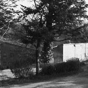 """2000 (boulot) - Dans le bois de Loquéran à Audierne, Benoît découvre l'ancienne colo """"Tourisme et Travail"""" ... c'est parti pour un premier chantier, avec un nouveau métier à la clé ! """"A suivre"""" donc ...."""