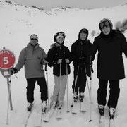 2016 (rando) - Jérusalem en vallée des Belleville : cette piste est un must et Benoît est élu meilleur mono de ski par nos enfants (déjà grands)