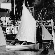 1999, Marie est documentaliste au port-musée de Douarnenez, Benoît oeuvre dans le développement local à pont l'Abbé