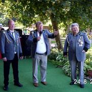 Roland, Egon und Karl-Ernst v.l.