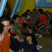 Les jeunes attendent le tournoi