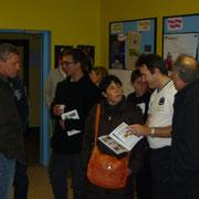 Distribution des livrets du club