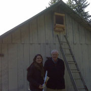 Installation on Kilmer Property in Florence, OR