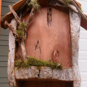 Bat House Commission detail for the Mattisons in Florence, Or