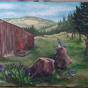 Instead, I put more Eastern Oregon rocks