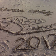 Our signature in the sand
